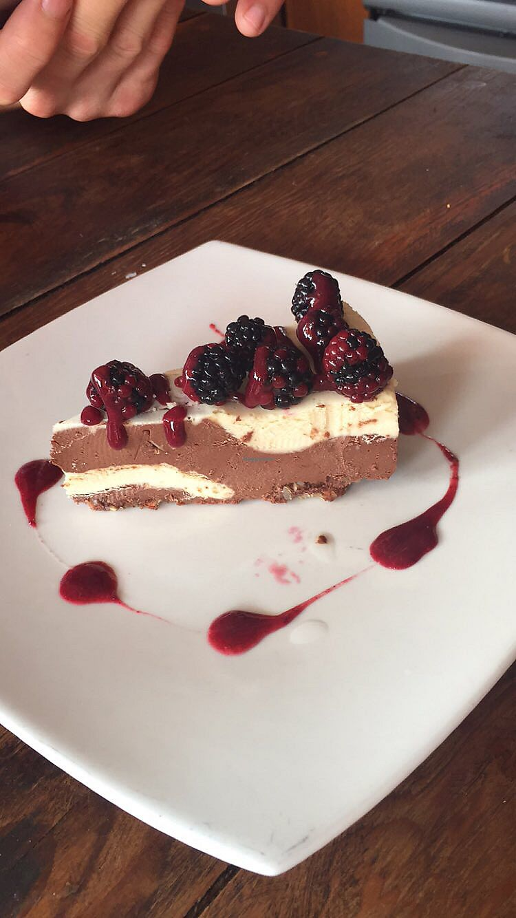 """Photo of Taqueria Entre Zankas  by <a href=""""/members/profile/katiecos"""">katiecos</a> <br/>Raw cheesecake <br/> January 18, 2018  - <a href='/contact/abuse/image/85588/347809'>Report</a>"""