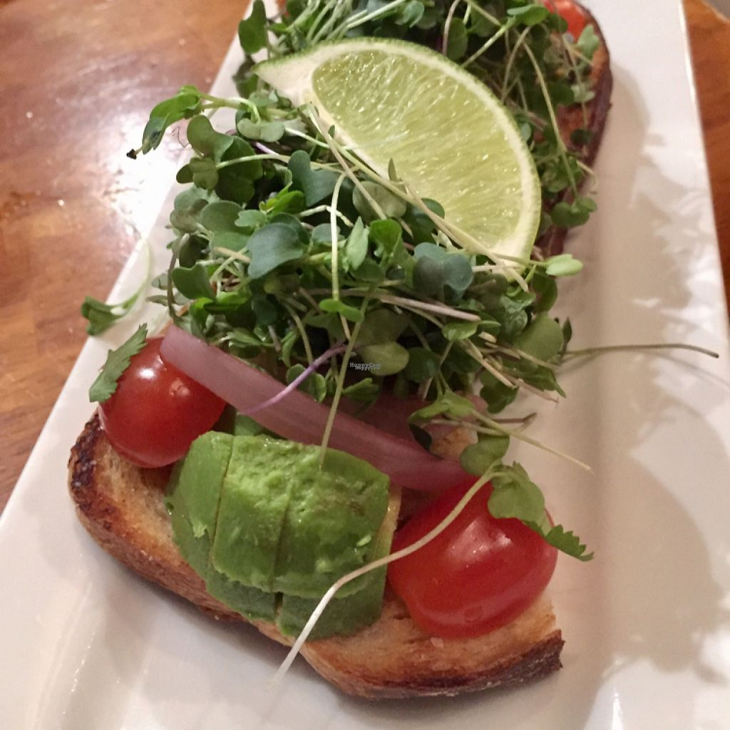 """Photo of Taproot Cider House  by <a href=""""/members/profile/happycowgirl"""">happycowgirl</a> <br/>Avocado Toast appetizer <br/> April 2, 2017  - <a href='/contact/abuse/image/85590/243622'>Report</a>"""