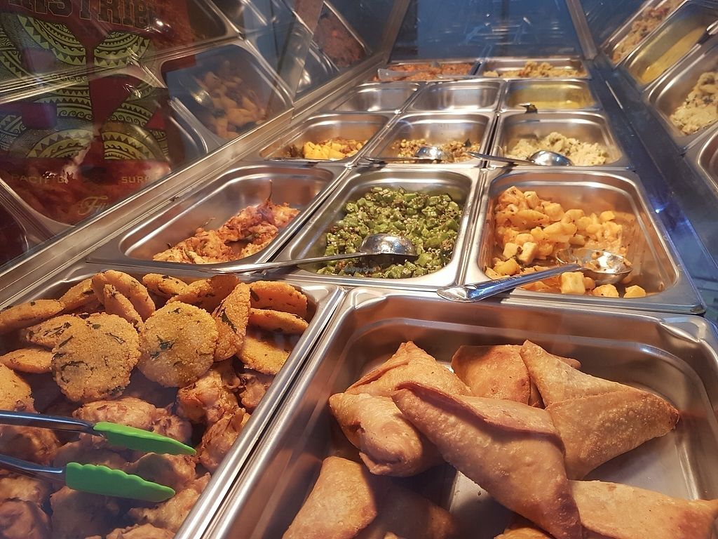 """Photo of Gita Kirti's Vegetarian Restaurant   by <a href=""""/members/profile/AmberBug"""">AmberBug</a> <br/>cheap and delicious! <br/> July 31, 2017  - <a href='/contact/abuse/image/85599/286884'>Report</a>"""
