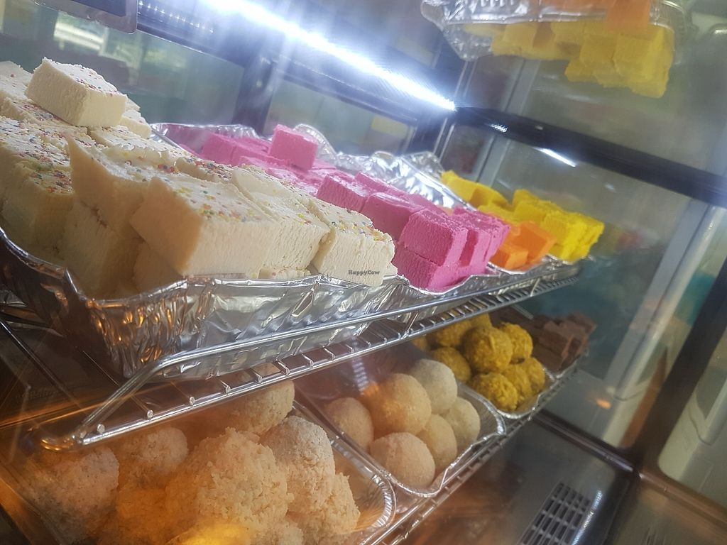 """Photo of Gita Kirti's Vegetarian Restaurant   by <a href=""""/members/profile/AmberBug"""">AmberBug</a> <br/>dessert options <br/> July 31, 2017  - <a href='/contact/abuse/image/85599/286885'>Report</a>"""