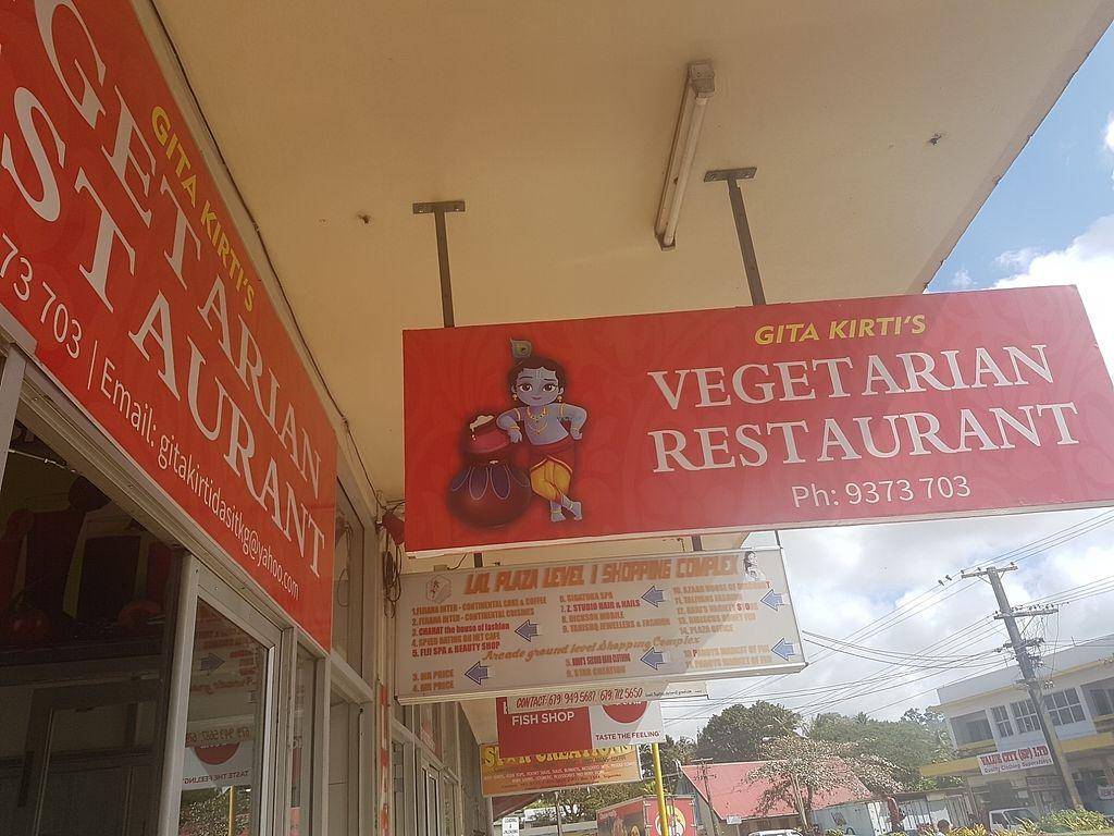 "Photo of Gita Kirti's Vegetarian Restaurant   by <a href=""/members/profile/AmberBug"">AmberBug</a> <br/>Gita Kirti's <br/> July 31, 2017  - <a href='/contact/abuse/image/85599/286886'>Report</a>"