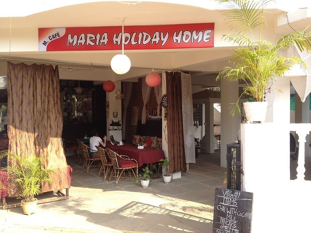 """Photo of Maria Guesthouse Restaurant  by <a href=""""/members/profile/Hellavegan"""">Hellavegan</a> <br/>Front of resturang <br/> January 25, 2017  - <a href='/contact/abuse/image/85612/216684'>Report</a>"""