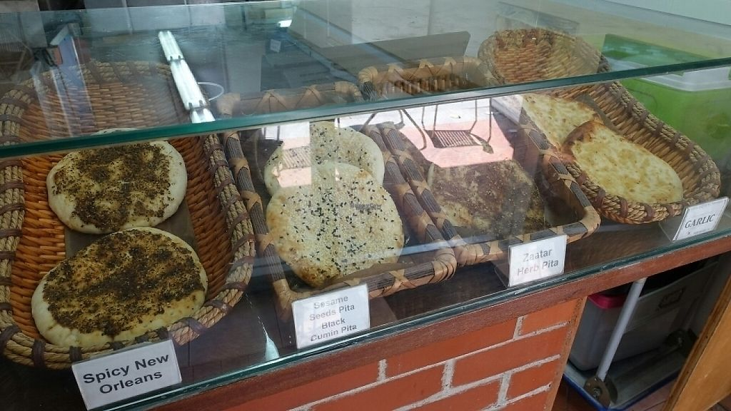 """Photo of Pita Bakery  by <a href=""""/members/profile/JimmySeah"""">JimmySeah</a> <br/>various pita  <br/> January 16, 2017  - <a href='/contact/abuse/image/85614/212473'>Report</a>"""