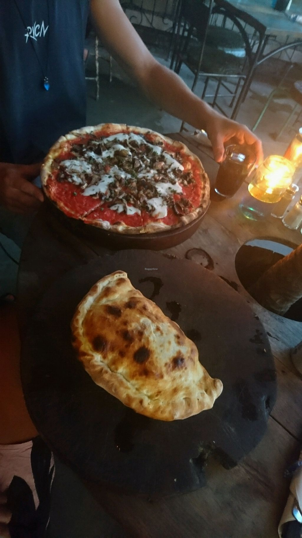 """Photo of Baracca Ristorante Pizzeria   by <a href=""""/members/profile/MagganStepien"""">MagganStepien</a> <br/>fungi and calzone <br/> April 11, 2018  - <a href='/contact/abuse/image/85615/383885'>Report</a>"""
