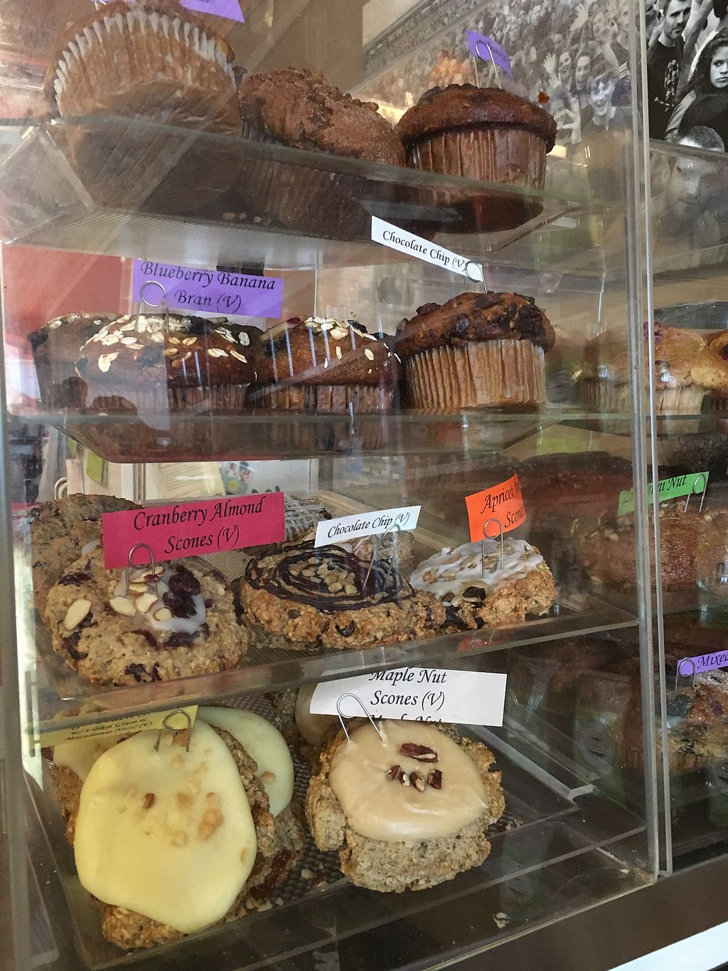 """Photo of Highland Coffee Company  by <a href=""""/members/profile/Jonaweinhofen"""">Jonaweinhofen</a> <br/>Assorted vegan pastries and muffins <br/> September 30, 2017  - <a href='/contact/abuse/image/85623/310207'>Report</a>"""