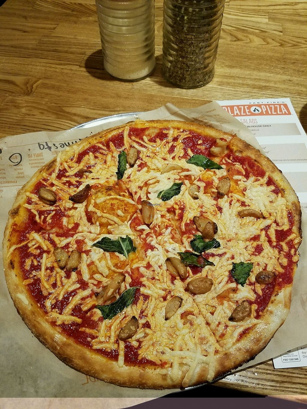 """Photo of Blaze Pizza  by <a href=""""/members/profile/severe"""">severe</a> <br/>mouth watering ? <br/> November 9, 2017  - <a href='/contact/abuse/image/85624/323535'>Report</a>"""