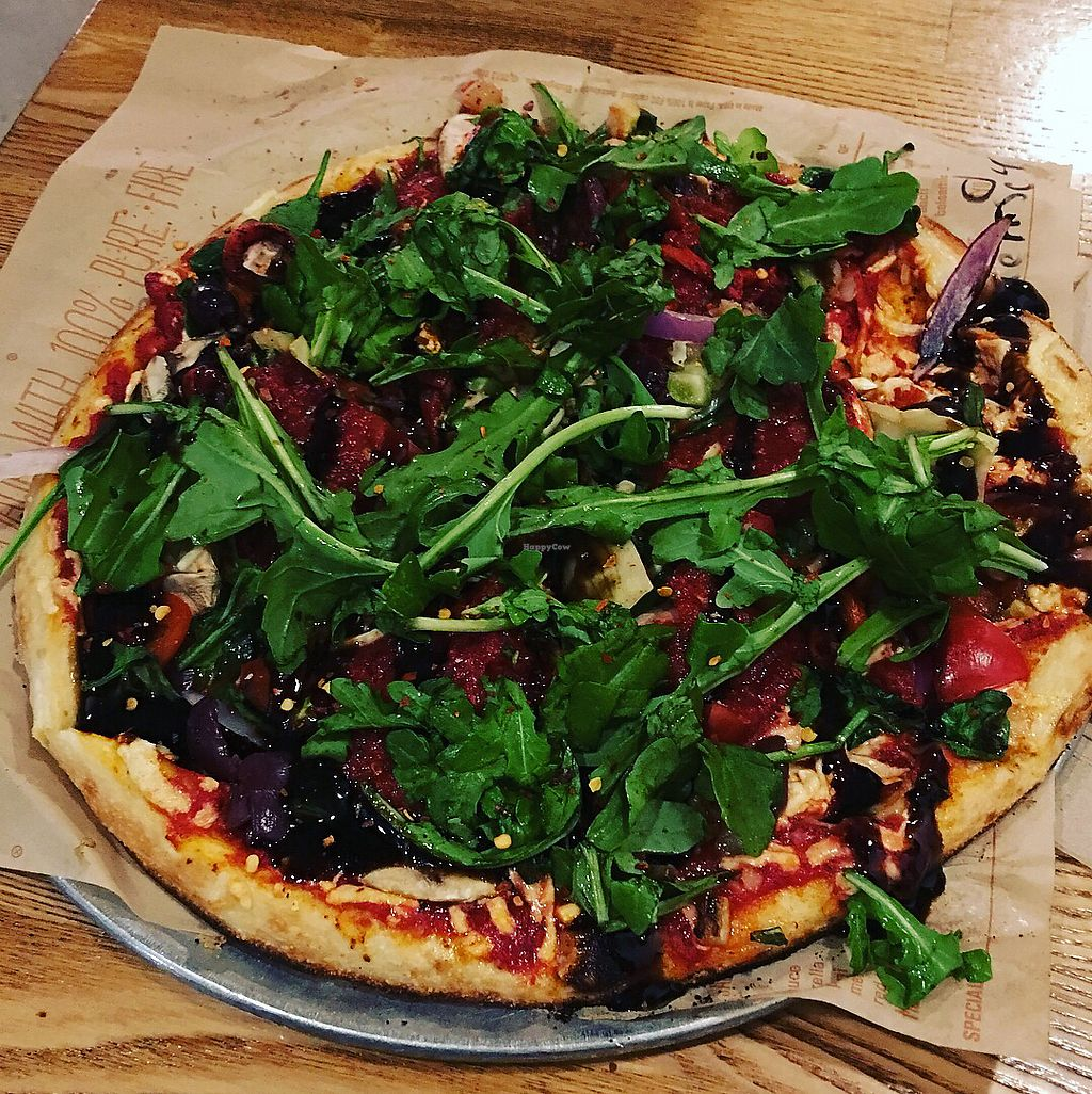 """Photo of Blaze Pizza  by <a href=""""/members/profile/ChereseTarter"""">ChereseTarter</a> <br/>Build your own vegan pizza option!  <br/> November 12, 2017  - <a href='/contact/abuse/image/85624/324524'>Report</a>"""