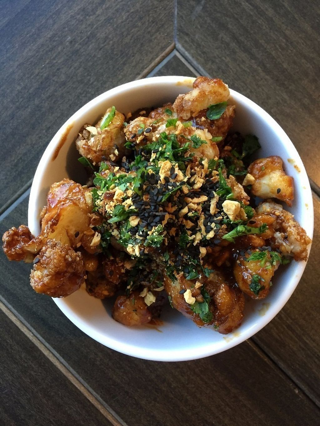 """Photo of Stall 11  by <a href=""""/members/profile/MeganGriffith"""">MeganGriffith</a> <br/>The korean bbq cauliflower from Stall 11 at R House in Remington, Baltimore <br/> January 16, 2017  - <a href='/contact/abuse/image/85625/212467'>Report</a>"""
