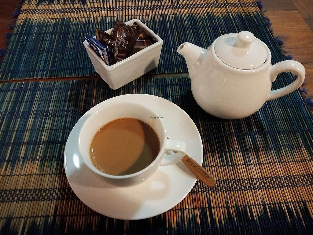 """Photo of Yogis Spicy  by <a href=""""/members/profile/GerryT"""">GerryT</a> <br/>masala soylatte chai <br/> March 19, 2018  - <a href='/contact/abuse/image/85642/372855'>Report</a>"""