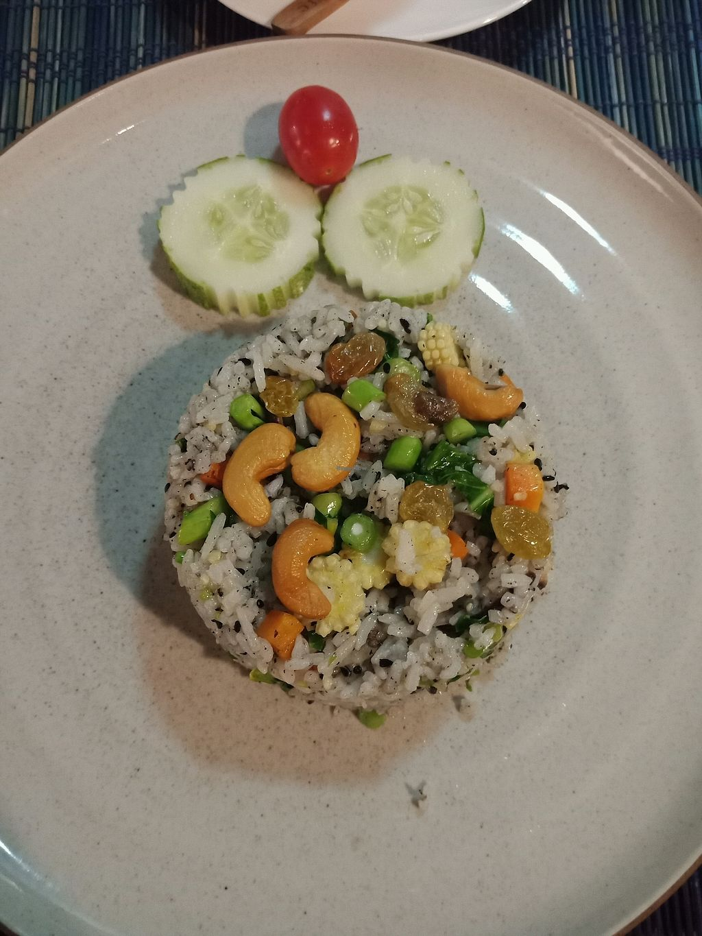 """Photo of Yogis Spicy  by <a href=""""/members/profile/GerryT"""">GerryT</a> <br/>cashew black sesam fried rice <br/> March 19, 2018  - <a href='/contact/abuse/image/85642/372876'>Report</a>"""