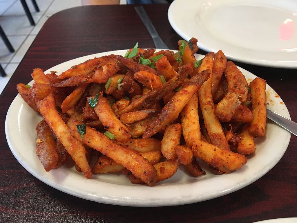 "Photo of Himalayan Nepali Cousine  by <a href=""/members/profile/EmilySuttonTaylor"">EmilySuttonTaylor</a> <br/>Chili battered fries  <br/> September 8, 2017  - <a href='/contact/abuse/image/85643/301898'>Report</a>"
