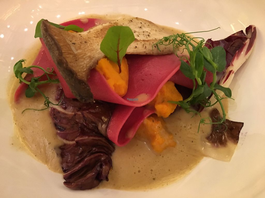 """Photo of PUUR!  by <a href=""""/members/profile/Damchozangmo"""">Damchozangmo</a> <br/>vegetarisches Nudelgericht mit Kürbis und Kräuterseitlingen  <br/> April 15, 2017  - <a href='/contact/abuse/image/85651/248363'>Report</a>"""