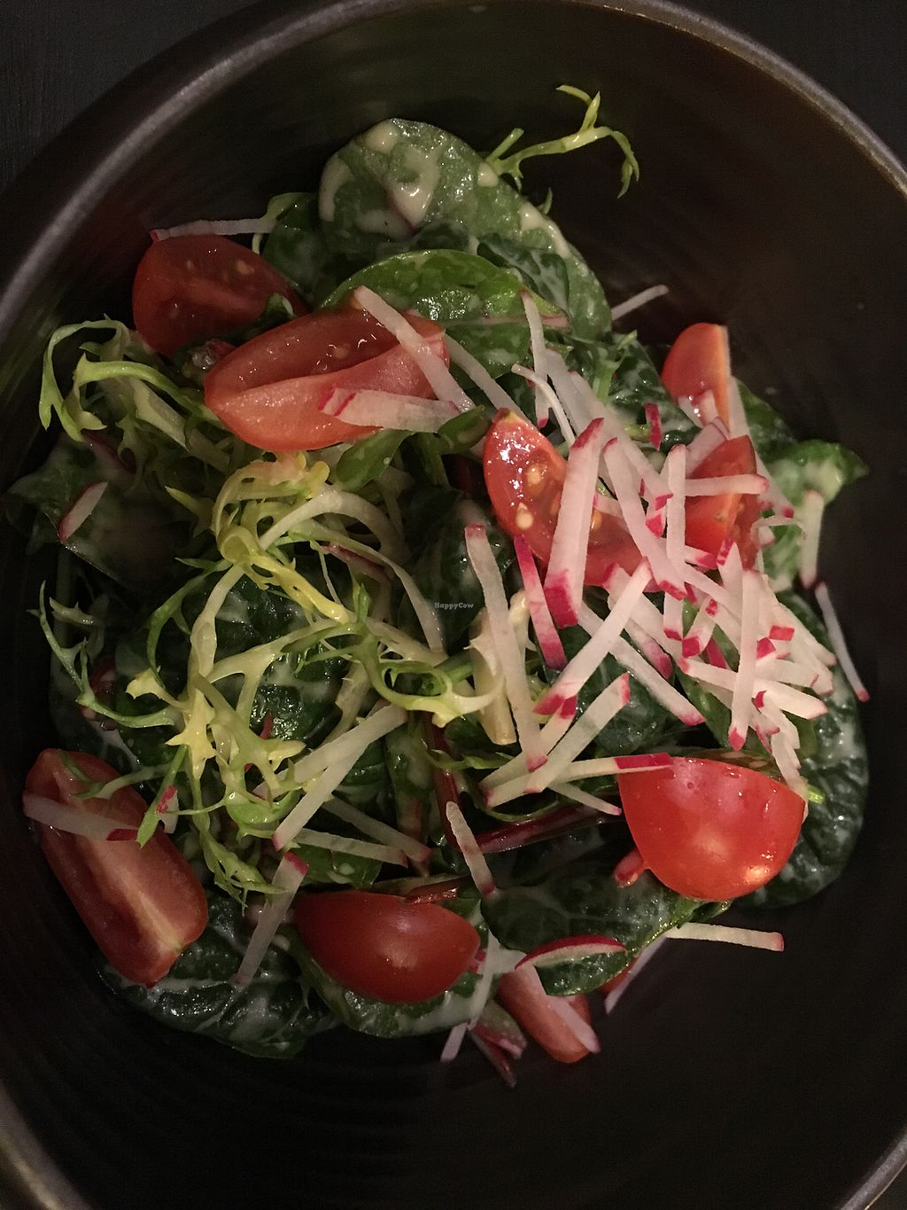 """Photo of PUUR!  by <a href=""""/members/profile/Kleeblatt"""">Kleeblatt</a> <br/>Baby Spinach Salad <br/> January 23, 2018  - <a href='/contact/abuse/image/85651/350164'>Report</a>"""