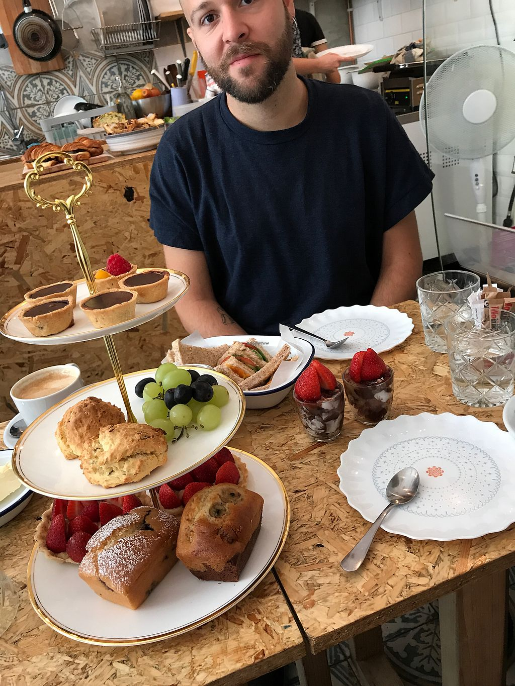 """Photo of Lele's  by <a href=""""/members/profile/JamesPegg"""">JamesPegg</a> <br/>Sunday Vegan Afternoon Tea <br/> September 5, 2017  - <a href='/contact/abuse/image/85652/301066'>Report</a>"""