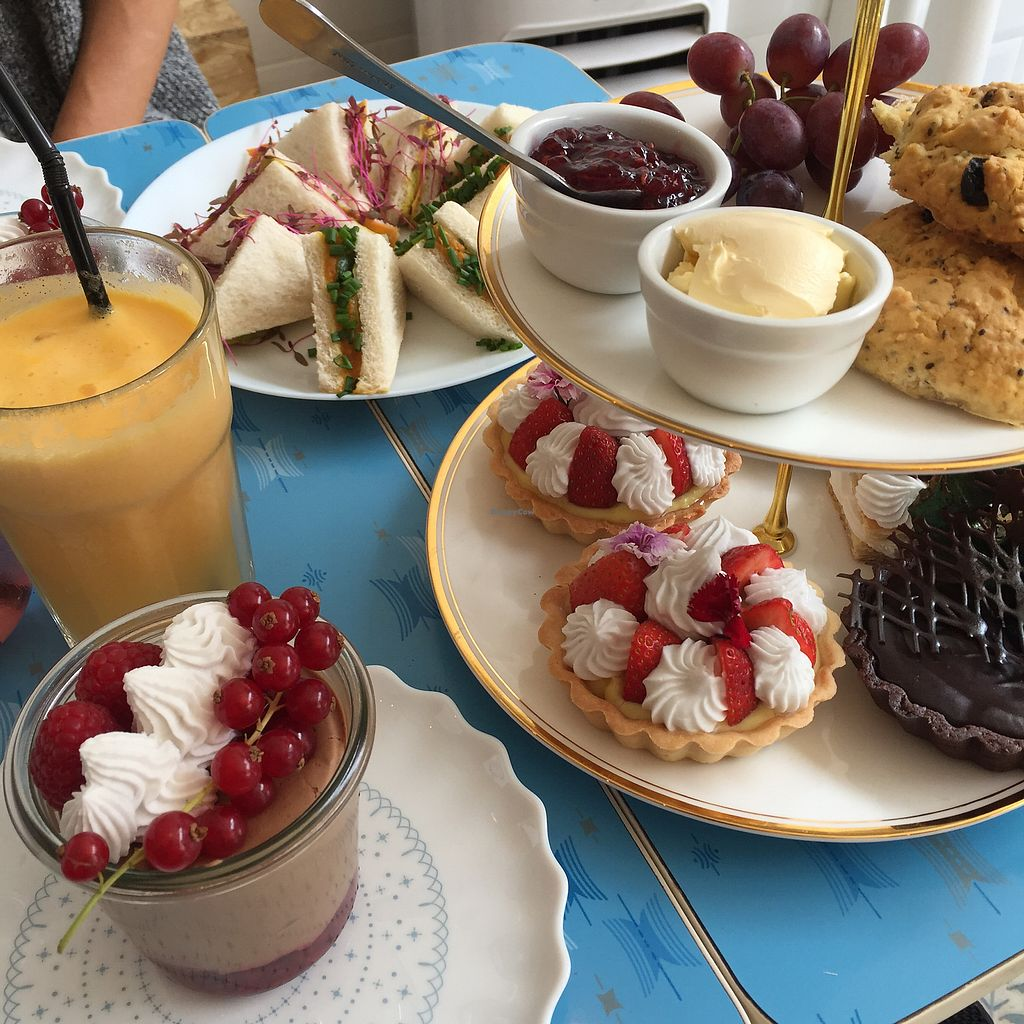 """Photo of Lele's  by <a href=""""/members/profile/koringal"""">koringal</a> <br/>Vegan afternoon tea  <br/> September 30, 2017  - <a href='/contact/abuse/image/85652/310333'>Report</a>"""