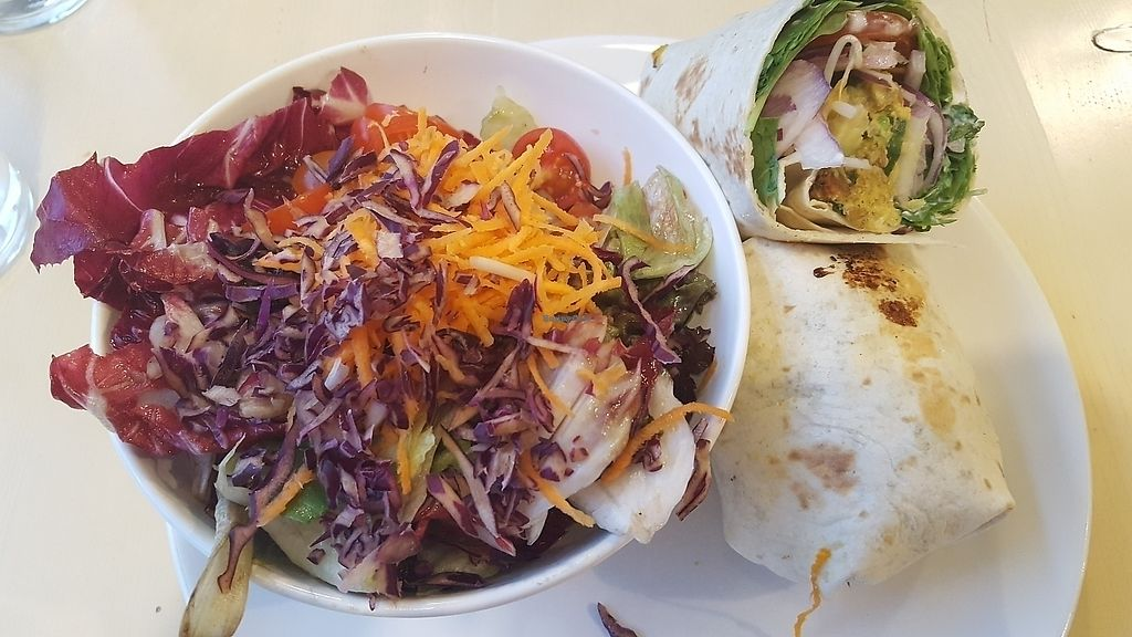"Photo of Veggiezz   by <a href=""/members/profile/SusanneOh"">SusanneOh</a> <br/>Veggiezz delight wrap  <br/> June 24, 2017  - <a href='/contact/abuse/image/85661/273093'>Report</a>"