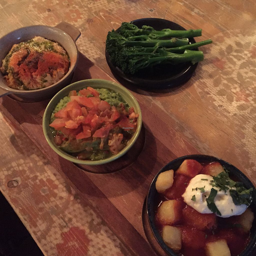 """Photo of Caballo Lounge  by <a href=""""/members/profile/bakeydoesntbake"""">bakeydoesntbake</a> <br/>Vegan tapas & tenderstem <br/> April 1, 2018  - <a href='/contact/abuse/image/85691/379573'>Report</a>"""