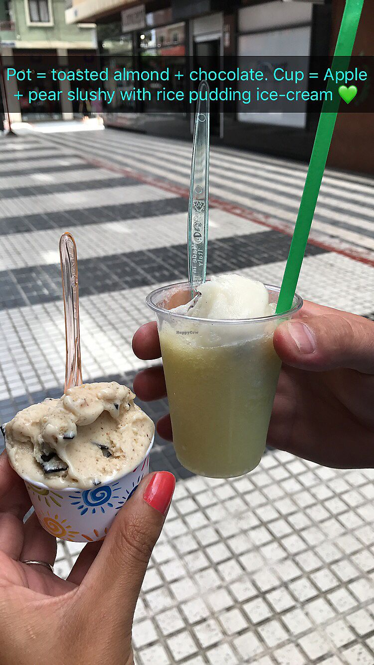 "Photo of Come Mi Gira Gelateria Naturale - Pje. de Francia  by <a href=""/members/profile/Deb_Rod"">Deb_Rod</a> <br/>vegan ice cream <br/> August 7, 2017  - <a href='/contact/abuse/image/85695/290057'>Report</a>"