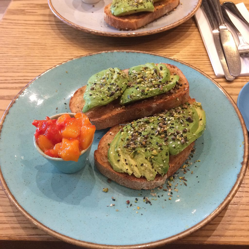 "Photo of District Coffee  by <a href=""/members/profile/LowriH%C3%A2f"">LowriHâf</a> <br/>Vegan brunch <br/> April 4, 2018  - <a href='/contact/abuse/image/85719/380508'>Report</a>"