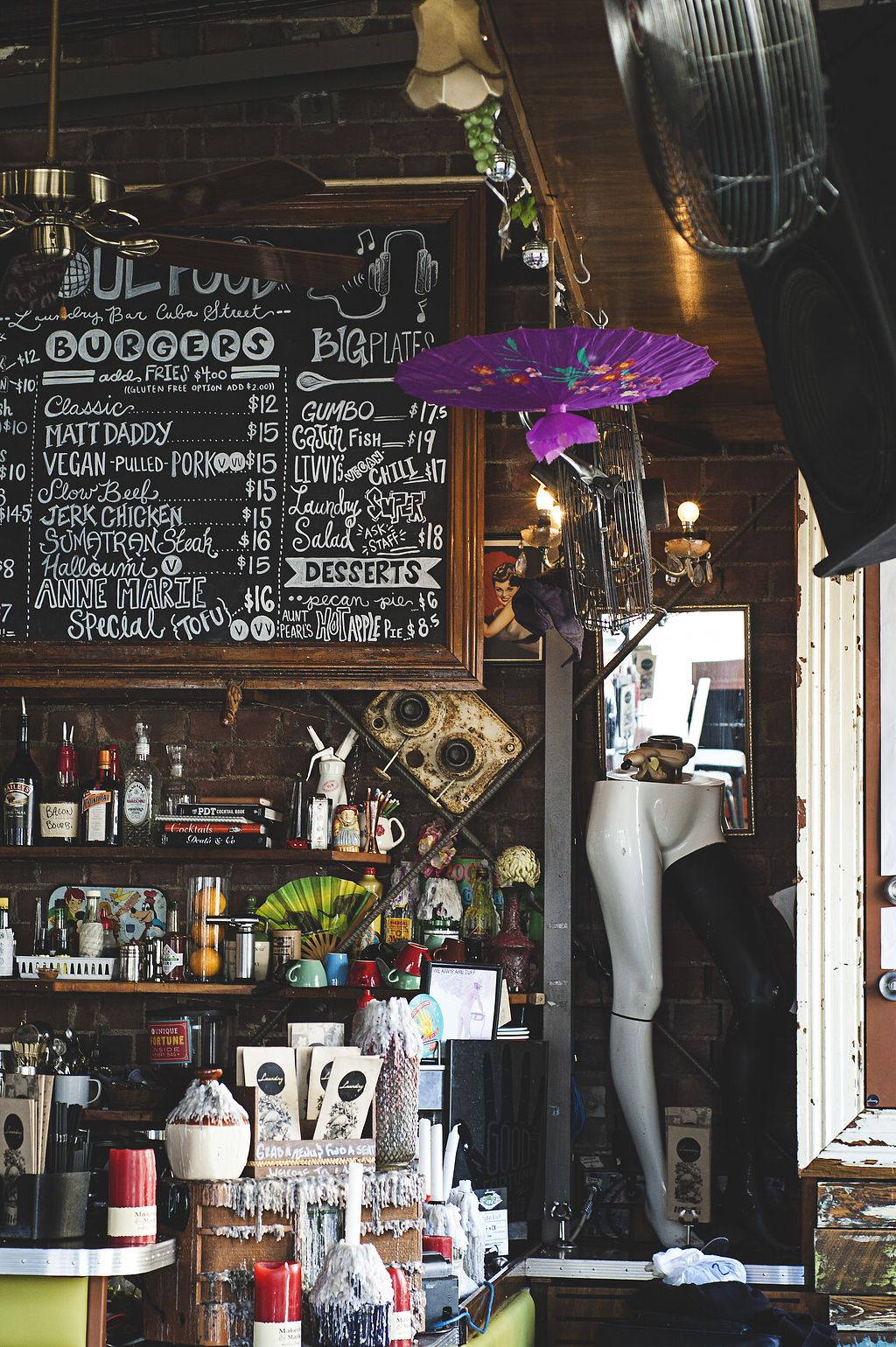 "Photo of Laundry   by <a href=""/members/profile/peasandunderstanding"">peasandunderstanding</a> <br/>Let's be real, this place is worth a stop only to admire the gorgeous bar! <br/> April 17, 2018  - <a href='/contact/abuse/image/85725/387265'>Report</a>"