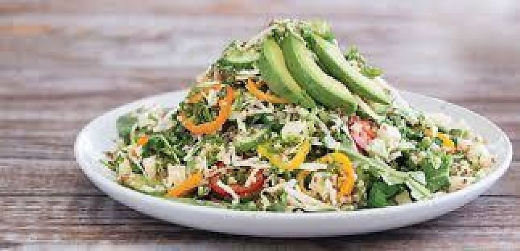 """Photo of Sharky's Woodfired Mexican Grill   by <a href=""""/members/profile/Sarge"""">Sarge</a> <br/>Sharky's Qunioa Salad <br/> January 18, 2017  - <a href='/contact/abuse/image/85748/213069'>Report</a>"""