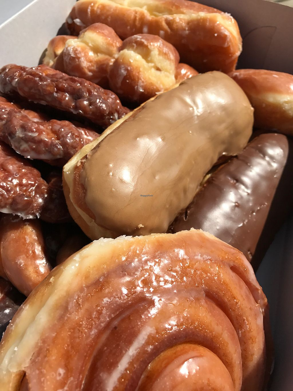 """Photo of Donut Xpress  by <a href=""""/members/profile/SoWo1999"""">SoWo1999</a> <br/>vegan donuts! <br/> August 19, 2017  - <a href='/contact/abuse/image/85755/294430'>Report</a>"""