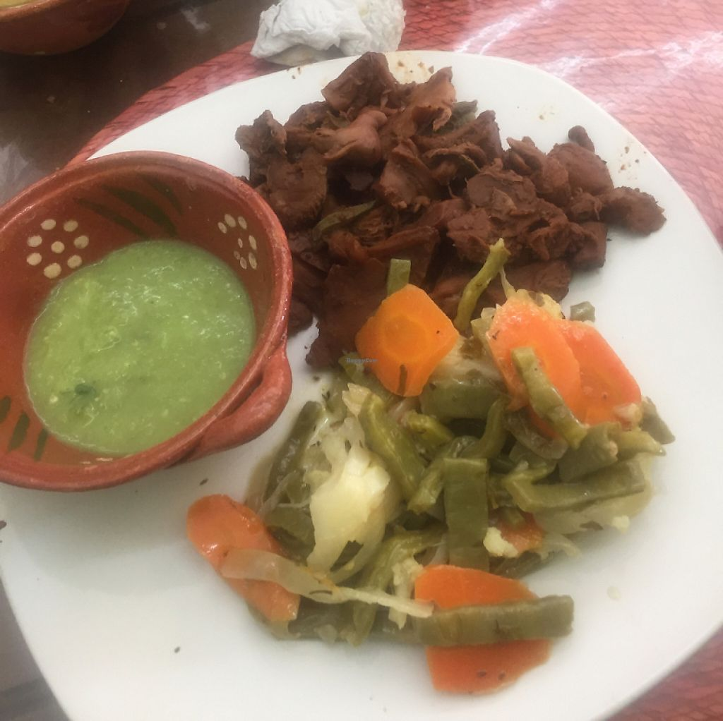 """Photo of Taco Vegan  by <a href=""""/members/profile/LaylaLm"""">LaylaLm</a> <br/>mushrooms barbacoa  <br/> June 5, 2017  - <a href='/contact/abuse/image/85756/265954'>Report</a>"""