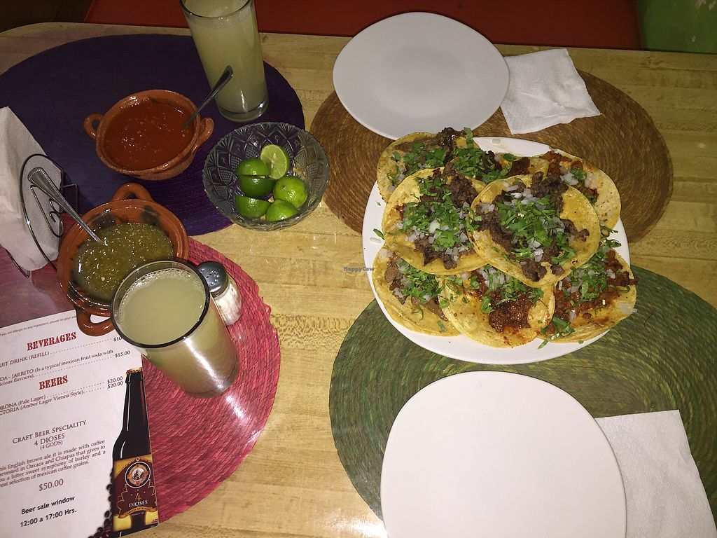 """Photo of Taco Vegan  by <a href=""""/members/profile/ahrjay83"""">ahrjay83</a> <br/>A variety of tacos! <br/> September 21, 2017  - <a href='/contact/abuse/image/85756/306903'>Report</a>"""