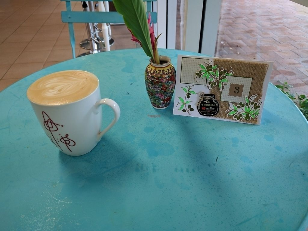 """Photo of Kings Wholefood Artisan  by <a href=""""/members/profile/VeganSoapDude"""">VeganSoapDude</a> <br/>Beautiful coffees <br/> February 11, 2017  - <a href='/contact/abuse/image/85769/225127'>Report</a>"""