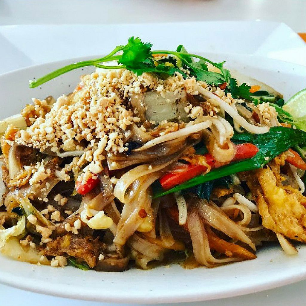 "Photo of Mr Soy Boy  by <a href=""/members/profile/MrSoyBoy"">MrSoyBoy</a> <br/>Tofu Pad Thai - Flat rice noodles with chilli, lemongrass, kaffir lime, & roasted peanuts <br/> November 2, 2017  - <a href='/contact/abuse/image/85804/321030'>Report</a>"