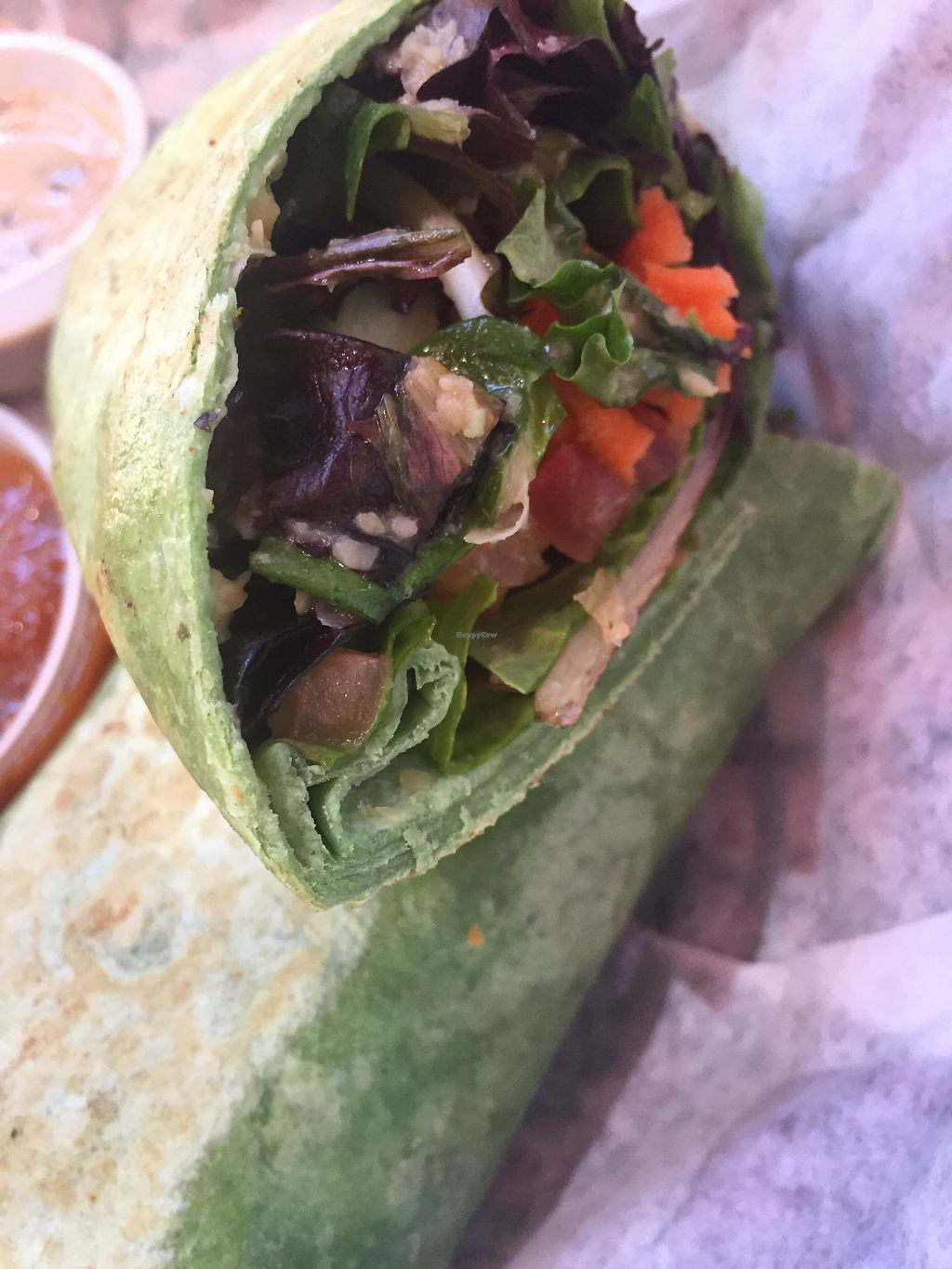 "Photo of Casa Maya  by <a href=""/members/profile/AndreaP"">AndreaP</a> <br/>Veggie wrap with hummus  <br/> April 30, 2018  - <a href='/contact/abuse/image/8583/393116'>Report</a>"