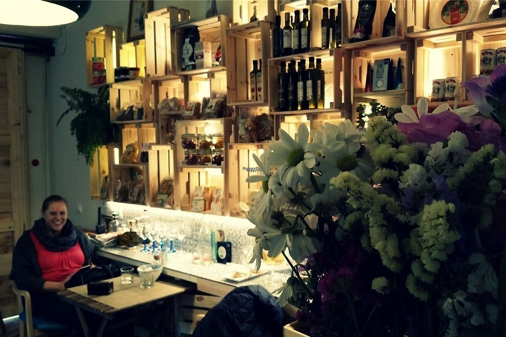 """Photo of La Negra Criolla  by <a href=""""/members/profile/Mallorcatalks"""">Mallorcatalks</a> <br/>the little (organic) shop inside the bar <br/> January 21, 2017  - <a href='/contact/abuse/image/85848/214346'>Report</a>"""