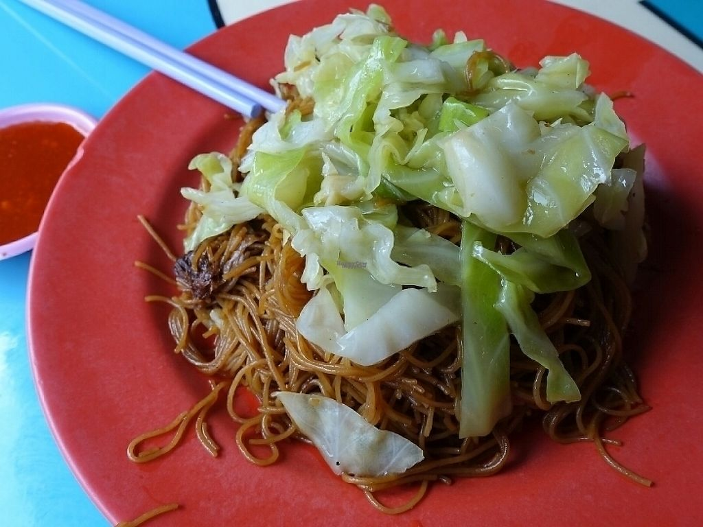 """Photo of Zai Xing Vegetarian Stall  by <a href=""""/members/profile/JimmySeah"""">JimmySeah</a> <br/>vegetarian vermicelli with cabbage  <br/> January 30, 2017  - <a href='/contact/abuse/image/85850/219594'>Report</a>"""
