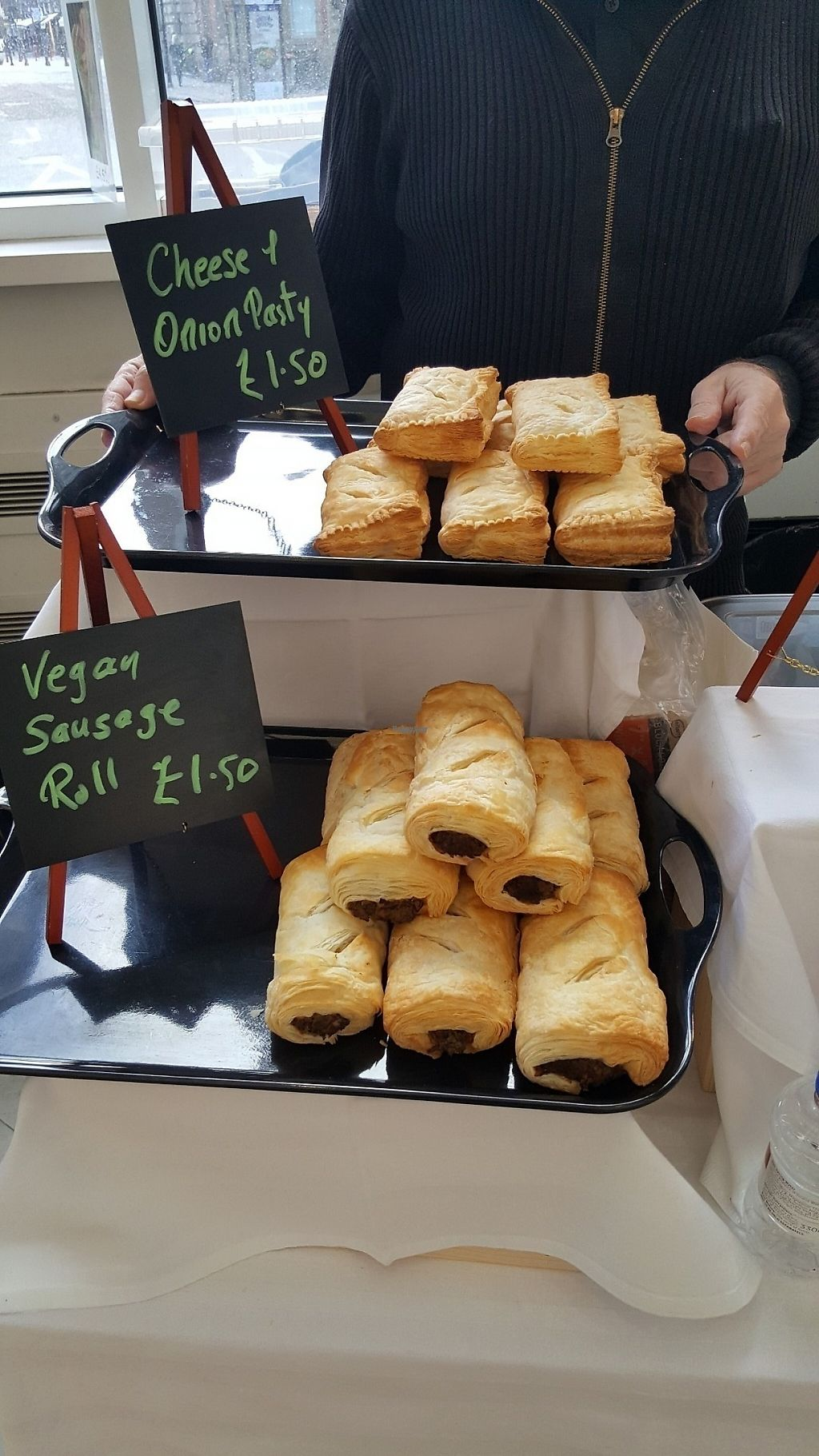 "Photo of Suffresh  by <a href=""/members/profile/Clare"">Clare</a> <br/>Vegan sausage rolls and pasties <br/> January 21, 2017  - <a href='/contact/abuse/image/85863/214367'>Report</a>"