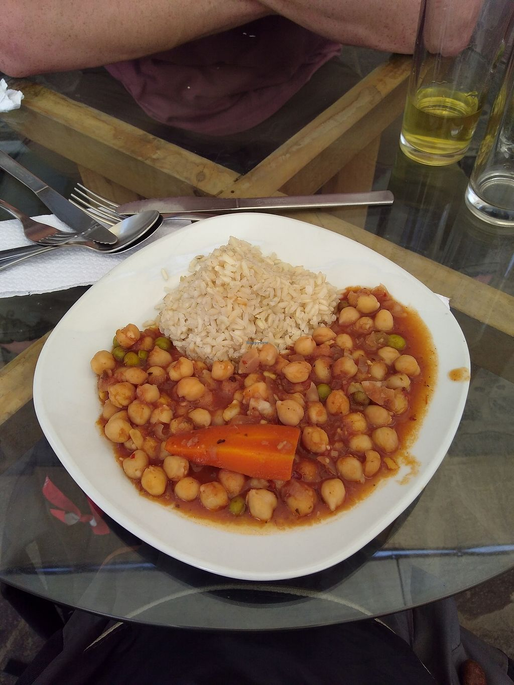 "Photo of Omphalos  by <a href=""/members/profile/emzie1983"">emzie1983</a> <br/>Chickpeas and brown rice almuerzo <br/> March 30, 2018  - <a href='/contact/abuse/image/85879/378094'>Report</a>"