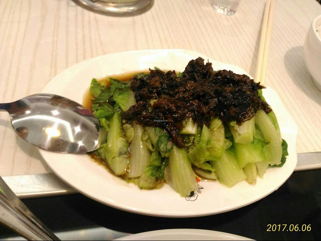 """Photo of Mama Vege - Raja Uda  by <a href=""""/members/profile/YiWei"""">YiWei</a> <br/>lettuce with 梅菜 <br/> June 6, 2017  - <a href='/contact/abuse/image/85890/266309'>Report</a>"""