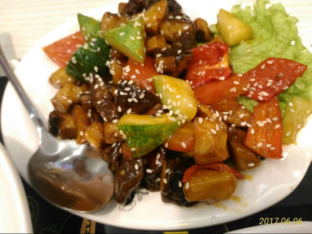"""Photo of Mama Vege - Raja Uda  by <a href=""""/members/profile/YiWei"""">YiWei</a> <br/>sweet n sour mushrooms! very nice  <br/> June 6, 2017  - <a href='/contact/abuse/image/85890/266310'>Report</a>"""