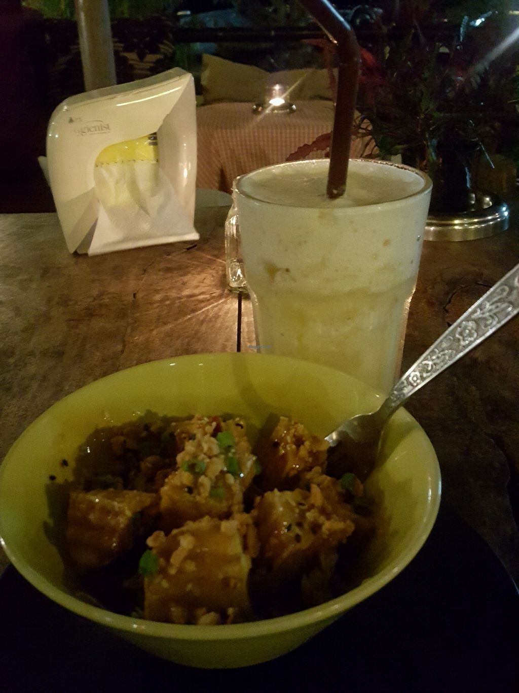 """Photo of CLOSED: Cuckoo's Nest  by <a href=""""/members/profile/Carolineof"""">Carolineof</a> <br/>stir tofu + salada (starter) <br/> December 28, 2017  - <a href='/contact/abuse/image/85910/339980'>Report</a>"""
