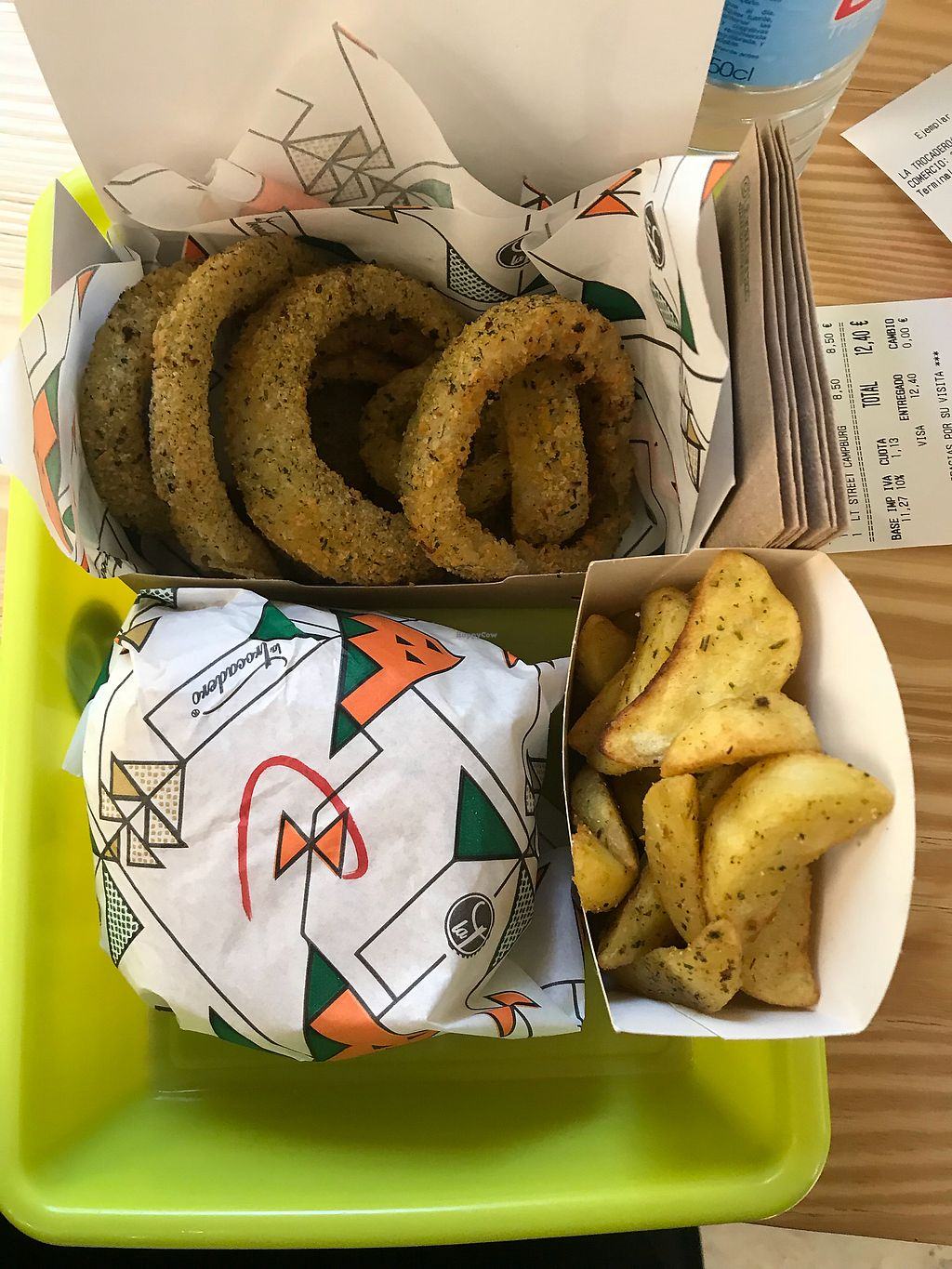 """Photo of La Trocadero  by <a href=""""/members/profile/amberley.may"""">amberley.may</a> <br/>Burger, wedges and onion rings! :) <br/> March 2, 2018  - <a href='/contact/abuse/image/85913/365841'>Report</a>"""
