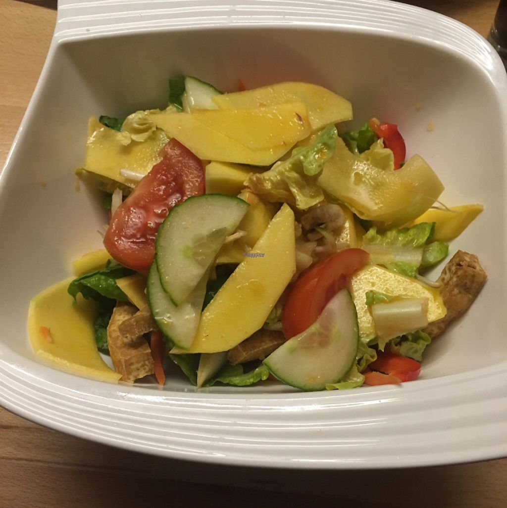 """Photo of Thai Thai  by <a href=""""/members/profile/Misanthropia"""">Misanthropia</a> <br/>Mango salad <br/> January 24, 2017  - <a href='/contact/abuse/image/85923/216562'>Report</a>"""