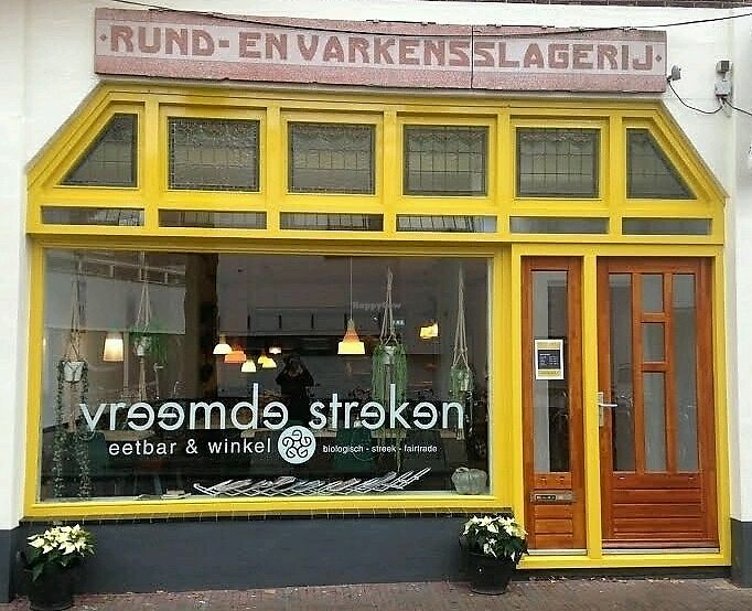 "Photo of Vreemde Streken  by <a href=""/members/profile/EmmyVD"">EmmyVD</a> <br/>don't be discouraged because of the butcher (slagerij) sign above the window <br/> March 23, 2018  - <a href='/contact/abuse/image/85924/374932'>Report</a>"