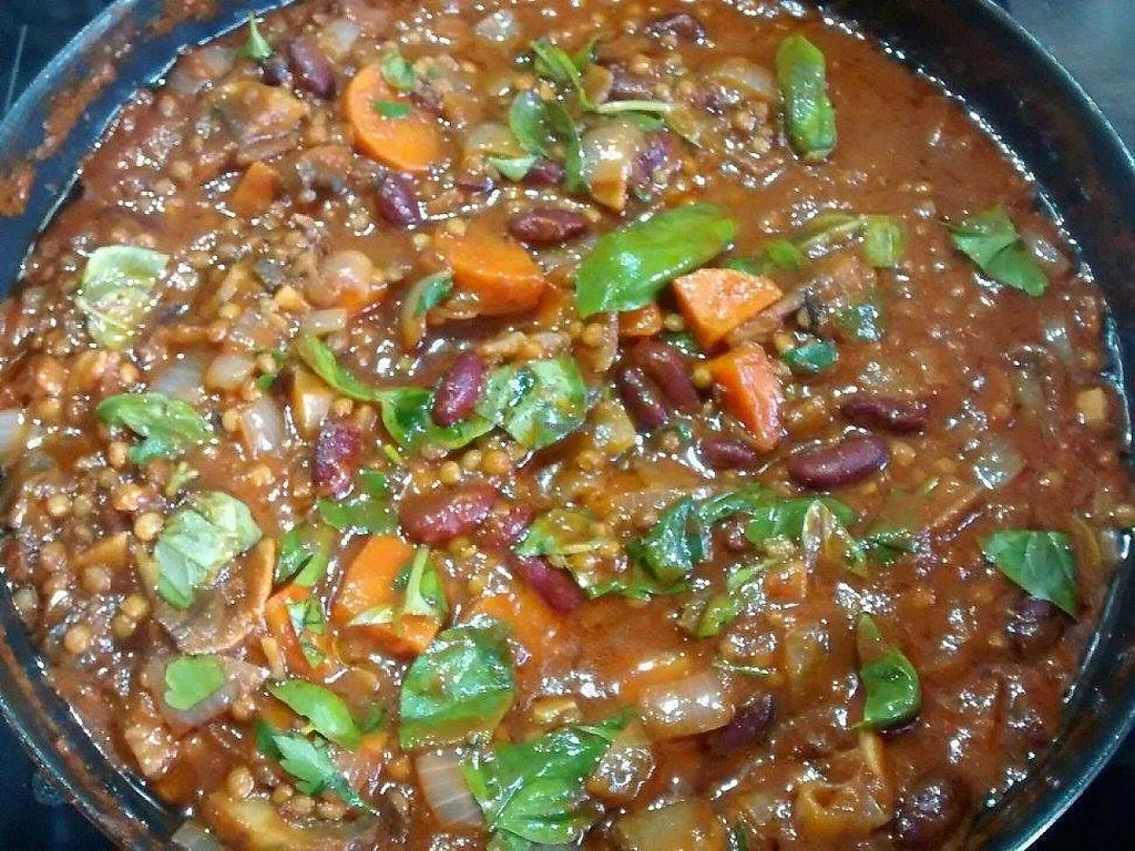 """Photo of Love to Eat - Food Stall  by <a href=""""/members/profile/community"""">community</a> <br/>Porcini mushroom and lentil bolognese <br/> January 23, 2017  - <a href='/contact/abuse/image/85945/215370'>Report</a>"""
