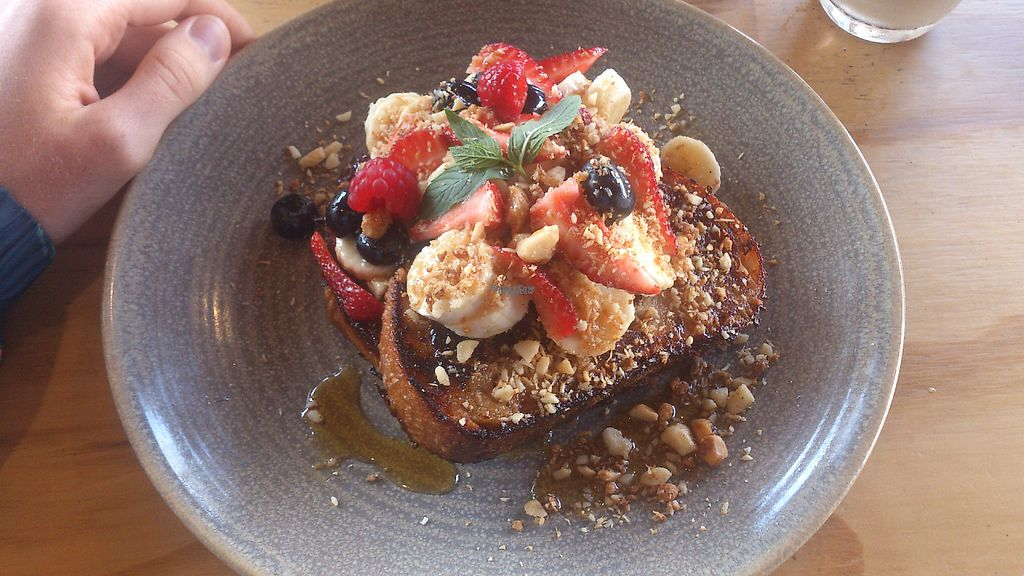 """Photo of Ruby Lane  by <a href=""""/members/profile/berrybluee"""">berrybluee</a> <br/>Insanely Delicious Vegan French Toast <br/> January 26, 2017  - <a href='/contact/abuse/image/85947/217102'>Report</a>"""