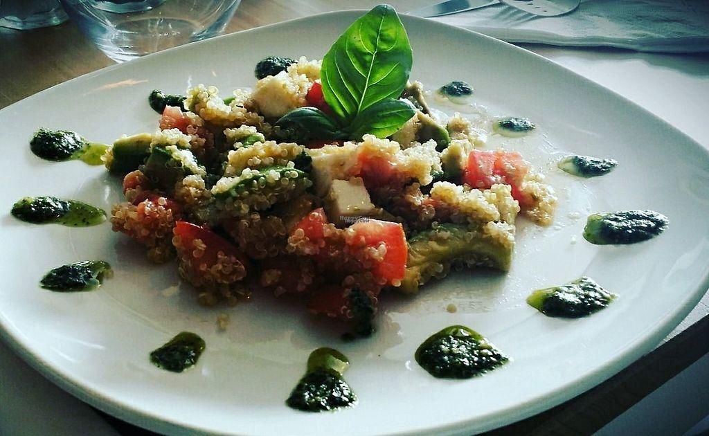 """Photo of La Taberna Ristorante Italiano  by <a href=""""/members/profile/community"""">community</a> <br/>Vegan quinoa salad <br/> January 27, 2017  - <a href='/contact/abuse/image/85972/217796'>Report</a>"""