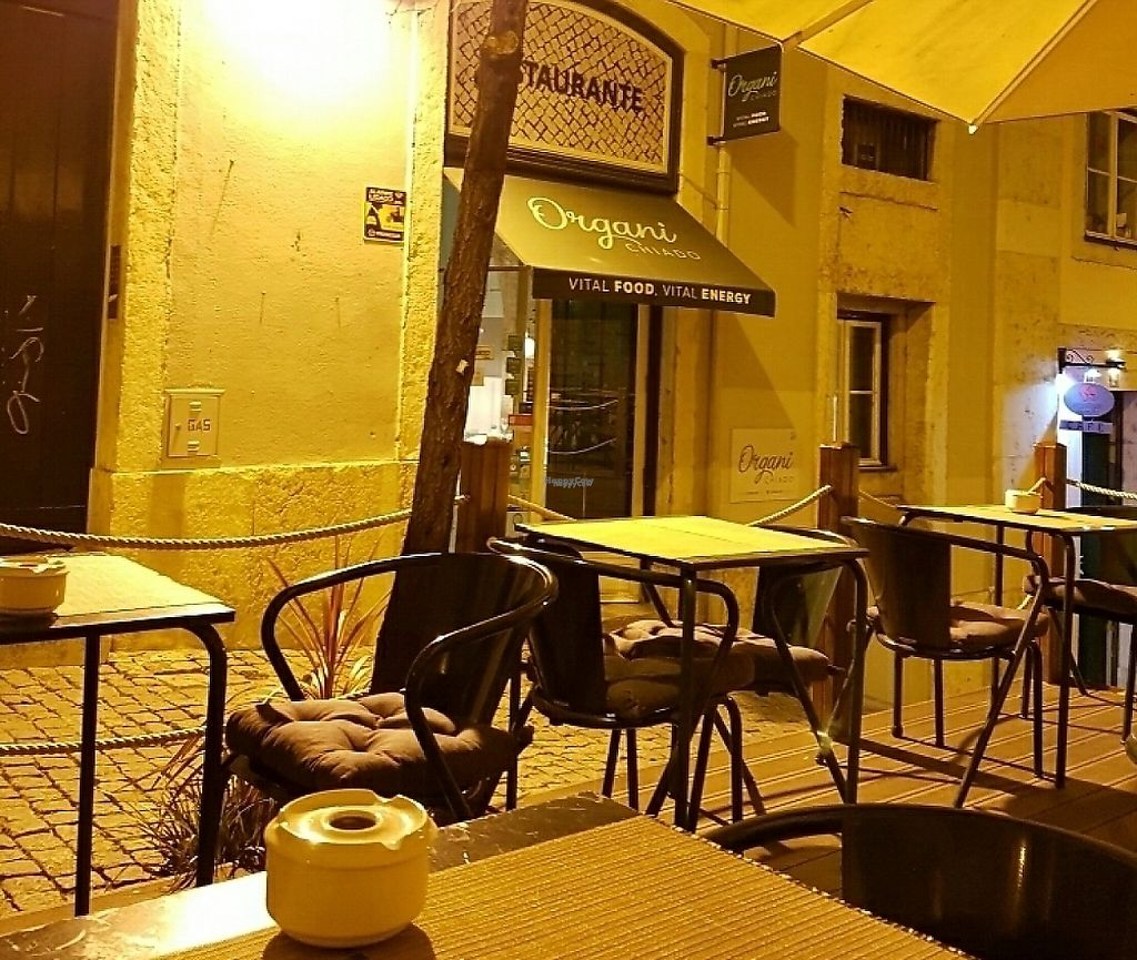 """Photo of Organi Chiado  by <a href=""""/members/profile/M%C3%BCllerb%C3%A6"""">Müllerbæ</a> <br/>Cosy night, outside dining <br/> March 16, 2017  - <a href='/contact/abuse/image/85979/241267'>Report</a>"""