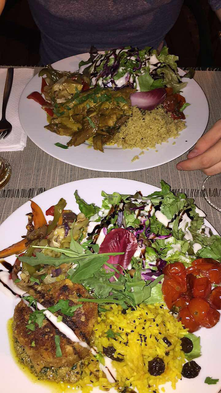 """Photo of Organi Chiado  by <a href=""""/members/profile/Larah"""">Larah</a> <br/>beanburger with salad, vegetables & rice <br/> August 18, 2017  - <a href='/contact/abuse/image/85979/294043'>Report</a>"""