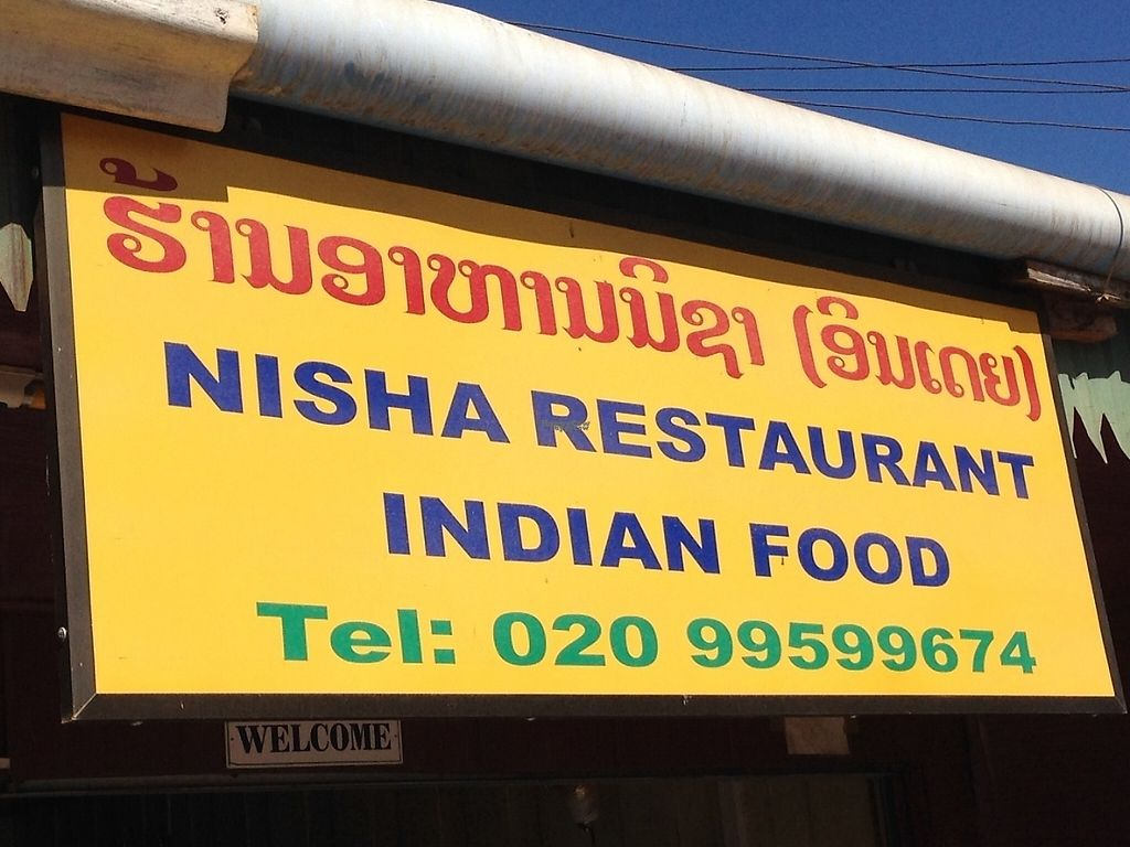 """Photo of Nisha Restaurant   by <a href=""""/members/profile/Tofulicious"""">Tofulicious</a> <br/>Sign from street <br/> January 31, 2017  - <a href='/contact/abuse/image/85984/220120'>Report</a>"""