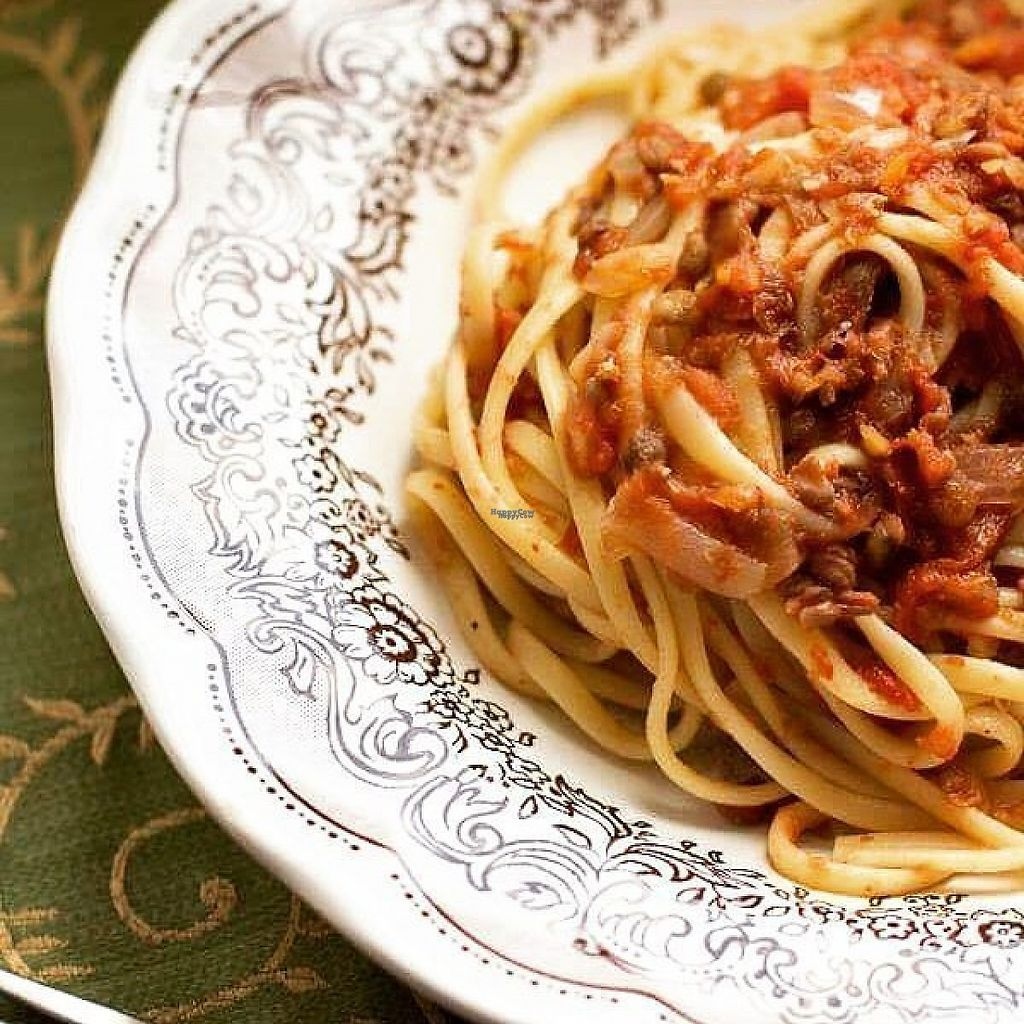 "Photo of La Dispensa di Amelia  by <a href=""/members/profile/community"">community</a> <br/>Linguine with lentil ragout <br/> January 24, 2017  - <a href='/contact/abuse/image/86001/216576'>Report</a>"
