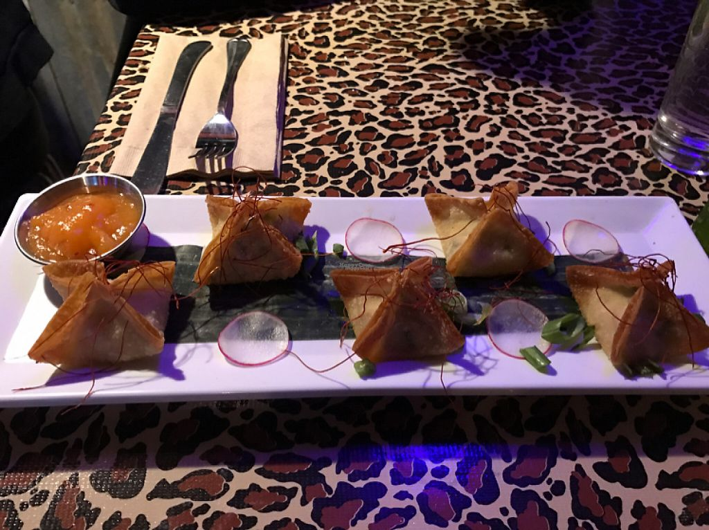 "Photo of No Bones Beach Club  by <a href=""/members/profile/lindseymiller"">lindseymiller</a> <br/>pineapple radish wontons <br/> April 15, 2017  - <a href='/contact/abuse/image/86035/248440'>Report</a>"