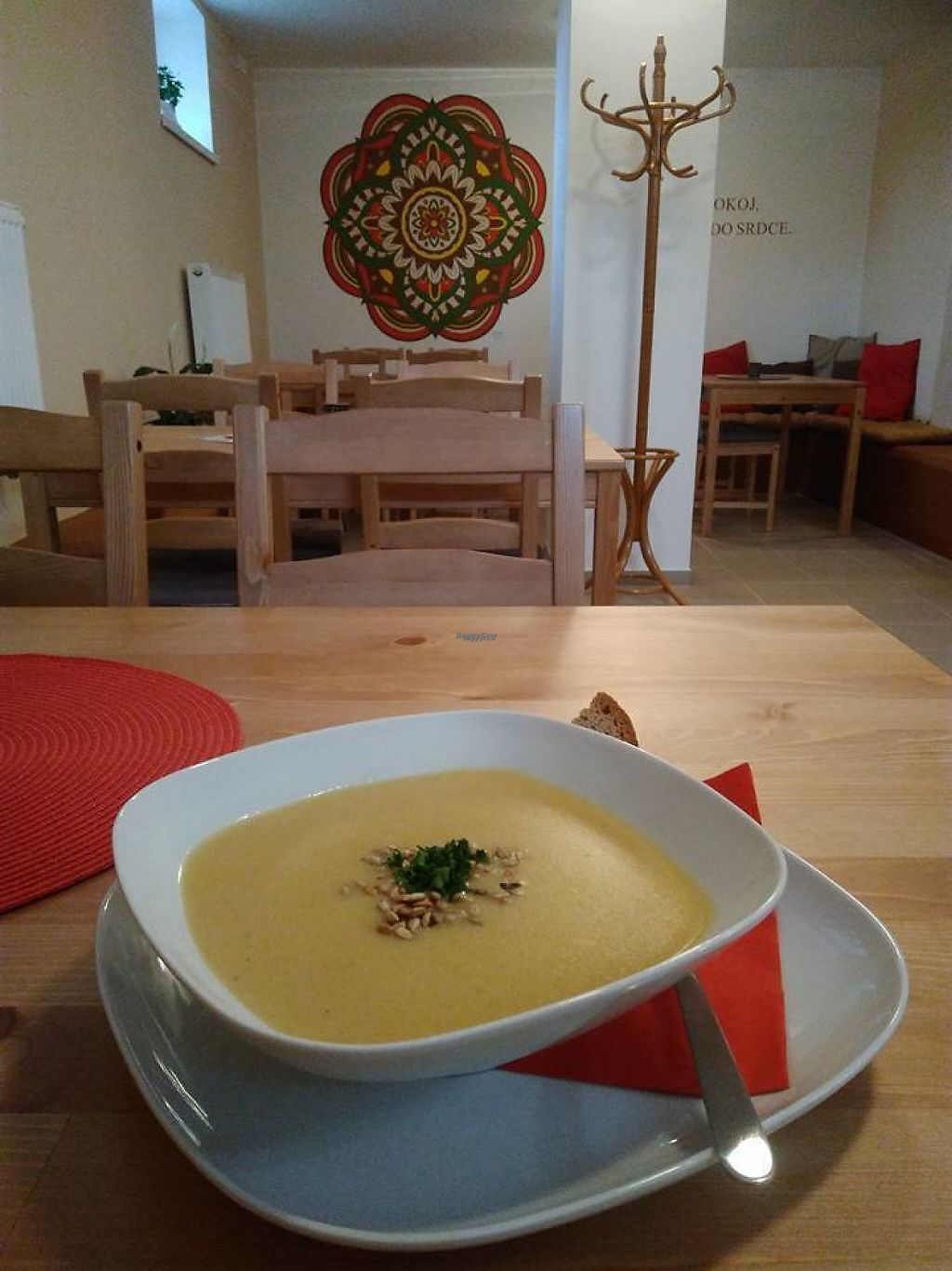 "Photo of Mandala Veggie Club  by <a href=""/members/profile/Makita"">Makita</a> <br/>Soup from Mandala <br/> January 25, 2017  - <a href='/contact/abuse/image/86045/216886'>Report</a>"